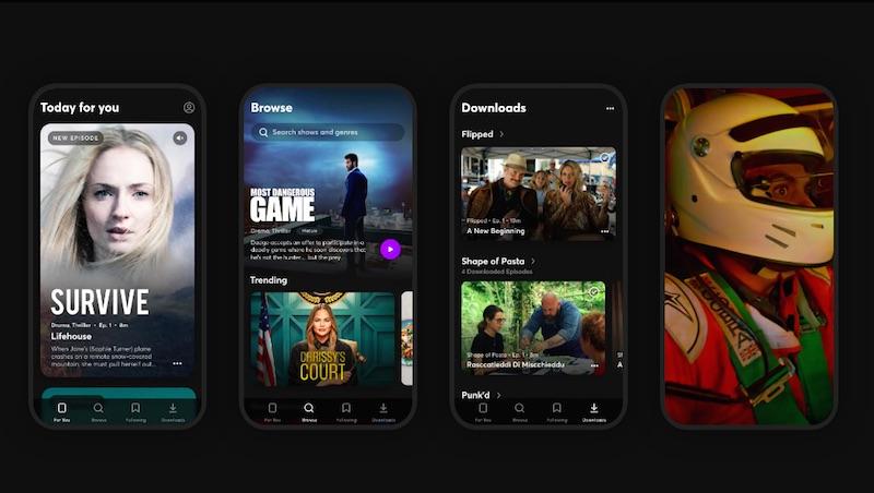 Arriva Quibi, la piattaforma per mini video da smartphone